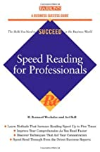 Speed Reading for Professionals…