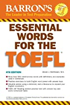Essential Words for the TOEFL by Steven J.…