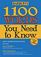 1100 Words You Need to Know by Murray…