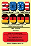 Henry Strutz: 2001 German and English Idioms: 2001 Deutsche und Englische Redewendungen (Barrons Foreign Language Guides)