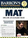 Sternberg, Robert: Barron's MAT: Miller Analogies Test