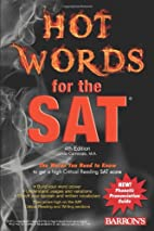 Hot Words for the SAT by Linda Carnevale
