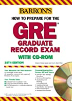 How to Prepare for the GRE with CD-ROM by…