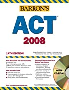 Barron's ACT, 2007-2008 with CD-ROM…