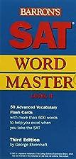 SAT Wordmaster, Level 2 by George Ehrenhaft