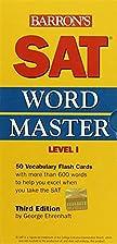 SAT Wordmaster, Level 1 by George Ehrenhaft