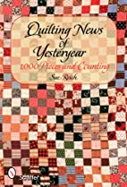 Quilting News of Yesteryear: 1,000 Pieces…