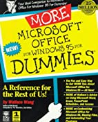 More Microsoft Office for Windows 95 for…