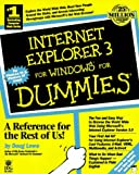 Lowe, Doug: Internet Explorer 3 for Windows for Dummies (For Dummies (Computer/Tech))