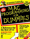 Sydow, Dan Parks: Mac Programming for Dummies