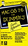 Levitus, Bob: Mac OS 7.6 for Dummies: Quick Reference (For Dummies (Computer/Tech))
