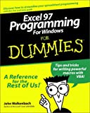 Walkenbach, John: Excel 97 Programming for Windows For Dummies