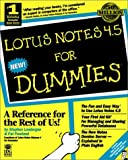 Londergan, Stephen: Lotus Notes 4.5 for Dummies