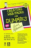 Lowe, Doug: Creating Web Pages for Dummies: Quick Reference
