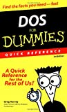 Harvey, Greg: DOS For Dummies Quick Reference