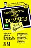 Harvey, Greg: Wordperfect 9 for Windows for Dummies: Quick Reference (For Dummies (Computer/Tech))