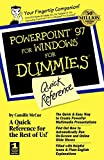 McCue, Camille: PowerPoint 97 For Windows For Dummies: Quick Reference (For Dummies: Quick Reference (Computers))