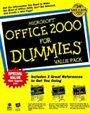 Wang, Wallace: Microsoft Office 2000 For Dummies, Value Pack (For Dummies (Computers))