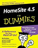 Bradbury, Nick: Homesite 4.5 for Dummies (For Dummies (Computer/Tech))
