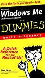 Harvey, Greg: Microsoft Windows Me For Dummies: Quick Reference