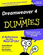 Dreamweaver 4 for Dummies by Janine Warner