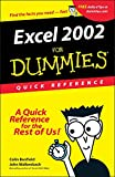 Banfield, Colin: Excel 2002 for Dummies Quick Reference