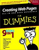 Vander Veer, Emily A.: Creating Web Pages All-in-One Desk Reference For Dummies