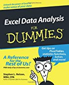 Excel Data Analysis for Dummies by Stephen…