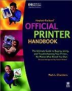 Hewlett-Packard Official Printer Handbook by…