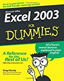 Harvey, Greg: Excel 2003 For Dummies