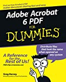 Harvey, Greg: Adobe Acrobat 6 PDF For Dummies