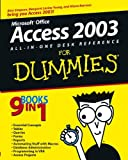 Simpson, Alan: Access 2003: All-In-One Desk Reference for Dummies