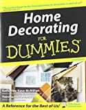McMillan, Patricia Hart: Home Decorating for Dummies