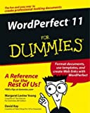 Young, Margaret Levine: WordPerfect 11 For Dummies