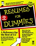 Kennedy, Joyce Lain: Resumes for Dummies