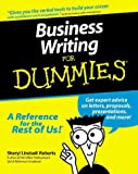 Lindsell-Roberts, Sheryl: Business Writing for Dummies