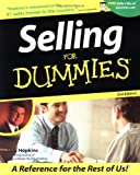 Hopkins, Tom: Selling for Dummies