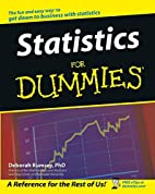 Statistics for Dummies by Deborah Rumsey
