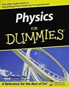 Physics For Dummies by Steve Holzner