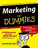 Alexander Hiam: Marketing For Dummies (For Dummies (Lifestyles Paperback))
