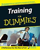 Training for Dummies by Elaine Biech