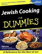 Jewish Cooking for Dummies by Faye Levy