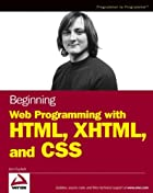 Beginning Web Programming with HTML, XHTML,…