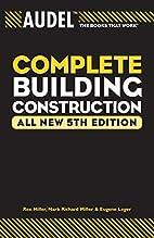 Audel Complete Building Construction (Audel…