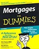 Eric Tyson: Mortgages For Dummies (For Dummies (Lifestyles Paperback))