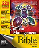 Boiko, Bob: Content Management Bible