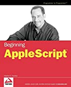 Beginning AppleScript by Stephen G. Kochan