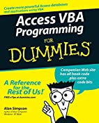 Access VBA Programming for Dummies by Alan…