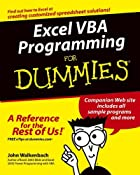 Excel VBA Programming For Dummies by John…