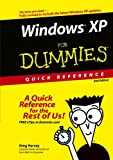 Harvey, Greg: Windows XP For Dummies Quick Reference